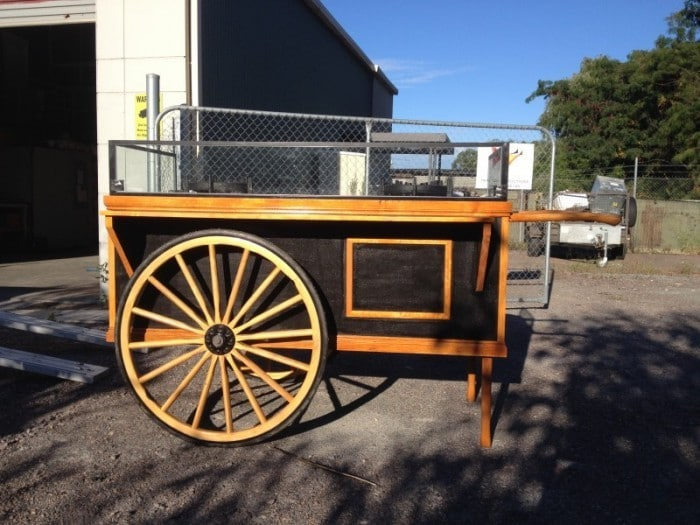 Ettamogah Hotel Paella Cart -